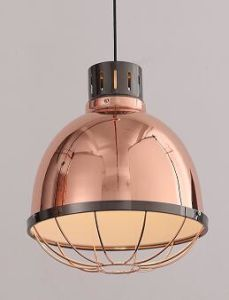 Round Vintage Pendant Lamp with Metal Shade (P-170406-S) pictures & photos
