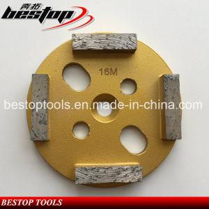 Bestop 4 Segment Concrete Diamond Grinding Disc pictures & photos