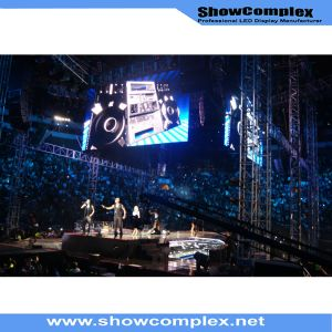 High Brightness of Outdoor Full Color Rental LED Video Display for Stage (P8) pictures & photos