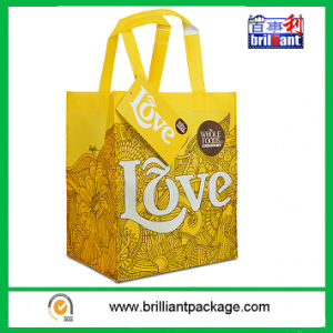 160g/Sqm Woven PP Shopping Bag Sized 50 X 40 X 17cm Full Color on 5 Sides pictures & photos