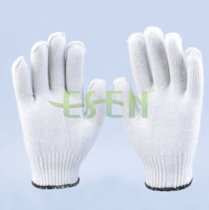 10 Gauge Industrial Poly Cotton gloves Knitting Gloves Made pictures & photos