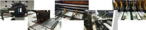 Dakiou Customize Paper Roll Carton Box Die Cutting Machine pictures & photos