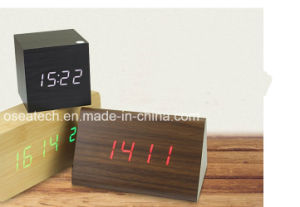 Table Funny LED Digital Alarm Clock pictures & photos
