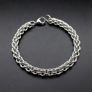 Hot Selling Jewelry Fashion Men Stainless Steel Chain Bracelet pictures & photos