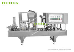 Automatic Cups Filling Sealing Machine (Cups Juice Filling Machine) pictures & photos