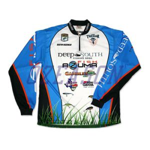 Free Design High Quality Plain Sublimated Fishing Jerseys (F010) pictures & photos