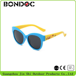 Children Hot Selling Frame Silicone Sunglasses pictures & photos