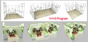 Re-Usable and Environment Friendly Aluminum Alloy Exhibition Fair Booth Stand pictures & photos