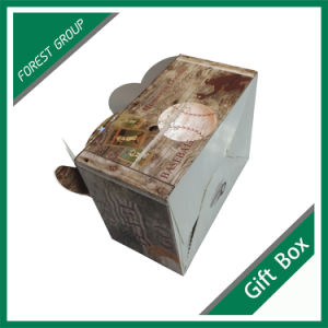 Disposable Paper Gift Food Box with Handle pictures & photos