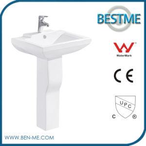 Bathroom Unique Full Pedestal Sinks Wash Basin pictures & photos