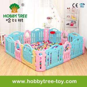 2017 Colorful Baby Safety Fence Factory Direct Product (HBS17049A)