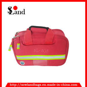 Red Polyester First Aid Kit Bag pictures & photos