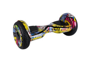 10inch Flashing Wheel Two Wheels Electric Self Balancing Scooter with Inflatable Tire pictures & photos