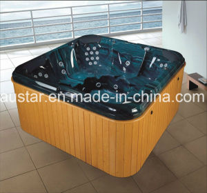2150mm Square Green Outdoor SPA for 6 People (AT-8806) pictures & photos