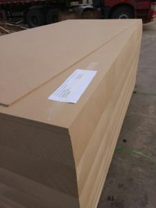 SGS First Class Quality 4*8 Size Natural Teak Veneer MDF pictures & photos