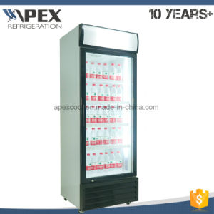 450L Swing Glass Door Upright Beverage Refrigerator pictures & photos