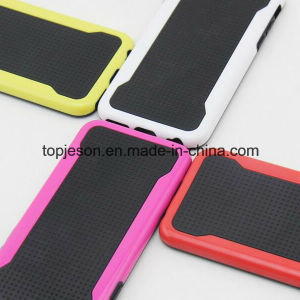 Rainbow Colors Grid Pattern Outer Phone Case for iPhone 6 pictures & photos