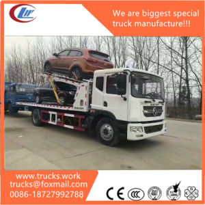 8ton Dongfeng 4*2 Light Duty Car Carrier Wrecker Truck pictures & photos