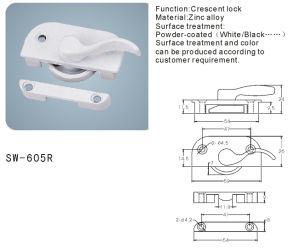 Crescent Lock for Window and Door Hardware Accessories (SW-605R) pictures & photos
