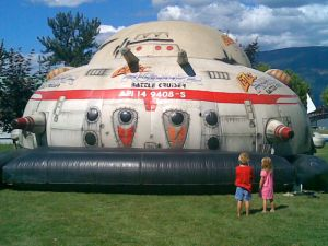 Inflatable Lazerrunner Battle Cruise Bouncer Dome pictures & photos