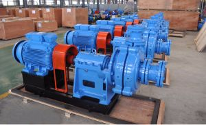 Ahkr Mine Industry Applied Rubber Lined Slurry Pump (150/100E-AHKR) pictures & photos