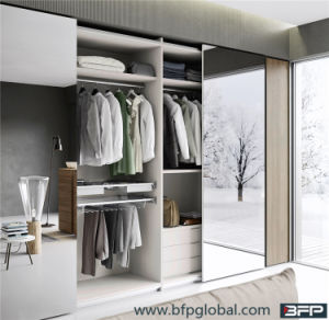 Mirror Sliding Door Bedroom Wardrobe pictures & photos
