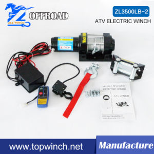 ATV Recovery Electric Winch 3500lb-2/1590kg 12V/24V pictures & photos