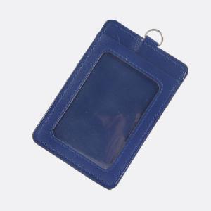 Fashion Design PU Leather Card Holder for Advertising