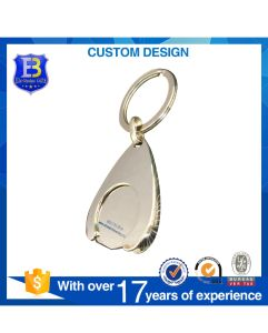 2017 UK New 12 Sides Shape Trolly Coin Keychain with Holder pictures & photos