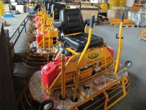 Construction Machinery Gasoline Concrete Ride on Power Trowel (CE) with Multi-Directional Steering System pictures & photos