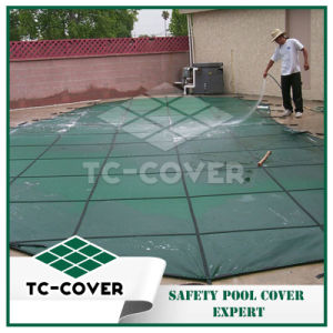 Plastic Swimming Pool Covers for Safety Use pictures & photos