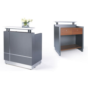 Modern Small Reception Desk Salon Hair Front Counter (SZ-RTK01) pictures & photos