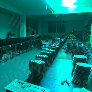 RGBW PAR LED 54X3w Professional Stage Lighting pictures & photos