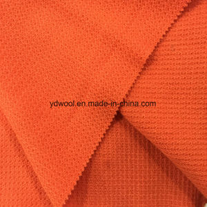 Little Jacquard Wool Fabric Honeycomb Styles Ready Greige Fabric pictures & photos