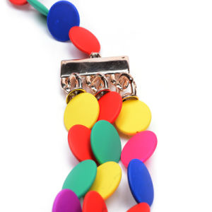Fashion Colorful Artificial Resin Earring Choker Necklace Jewelry pictures & photos