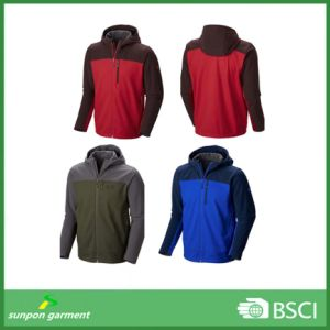 Polar Unique Design New Fashion Waterproof Softshell Jacket pictures & photos
