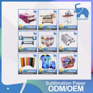 The Best Price Inkjet Fast Dry Sublimation Heat Transfer Paper pictures & photos