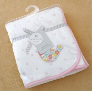 Emborider Solid Micro Mink Baby Blanket Sft01bb191 pictures & photos
