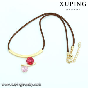 Necklace-00358 Fashion Gold Plated CZ Diamond Choker Necklace pictures & photos