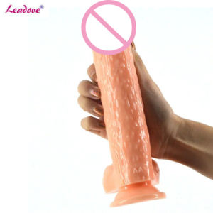 Leadove@1PCS/Lot 2017 New Arrival Waterproof Realistic Silicone Huge Dildo Animal Penis Sex Toys for Women Adult Sex Products pictures & photos