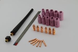 Kingq Wp20 Copper TIG Welding Collet 10n Series with Ce pictures & photos