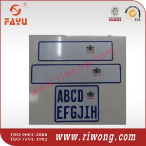 Senegal Aluminum Car Number Plate pictures & photos