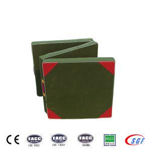 Wholesale Tri-Folding Hand-Held EVA Gymnastics Mat pictures & photos