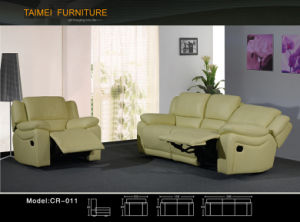 Best Selling Leather Reclining Sofa (recliner) pictures & photos