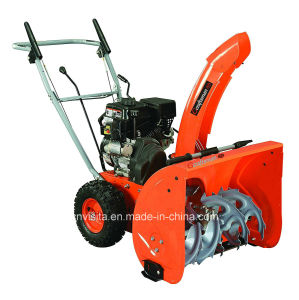 196cc Engine Manual Start 2 Stage Snow Thrower pictures & photos
