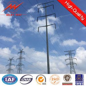 Double Circuit 110kv 15m Steel Poles Factory pictures & photos