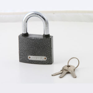 MID Heavy Duty Painted Plastic Padlock with Brass Cylinder pictures & photos