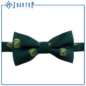 Green Self Tie Bow Tie for Business Man pictures & photos