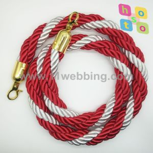 High Quality Twisted Ropes for Queue Barrier Post Stanchion pictures & photos