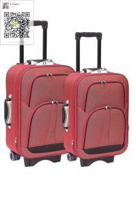 600d Twotone Fabric EVA Suitcase pictures & photos